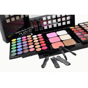 78 Colors All Occasion Complete Cosmetics Makeup Set-MakeUp Set-Sour Grapes Online-
