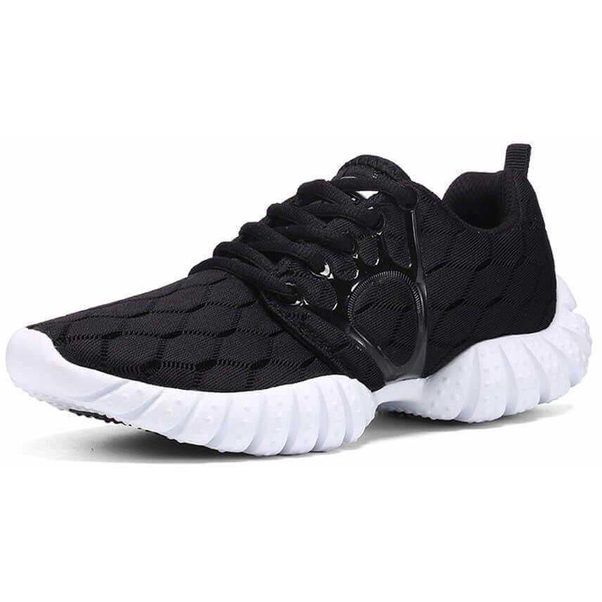 Air Sport Breathable Running Sports Training Black Sneakers-Sneakers-Sour Grapes Online-Black-5-