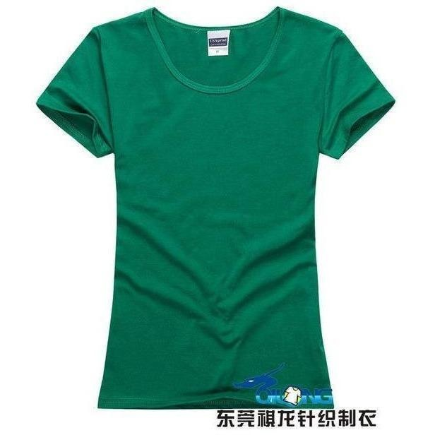 Brand New fashion women t-shirt brand tee tops Short Sleeve Cotton tops for women clothing solid O-neck t shirt ,Free shipping-T-Shirt-Sour Grapes Online-Green-S-