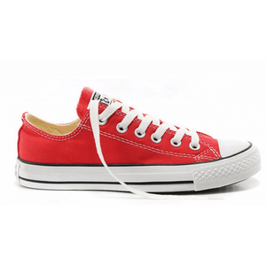 Converse All Star Slip On Skateboarding Canvas Red Shoes-Sneakers-Sour Grapes Online-Red-US3 (EUR35)-