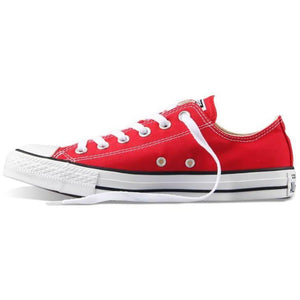 Converse All Star Slip On Skateboarding Canvas Red Shoes-Sneakers-Sour Grapes Online-Red-US4 (EUR36.5)-