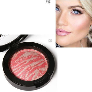 Face Bronzer Blushes Powder Cosmetic Natural Base Makeup Highlighter Face Contour Blush-Face Styling-Sour Grapes Online-05-