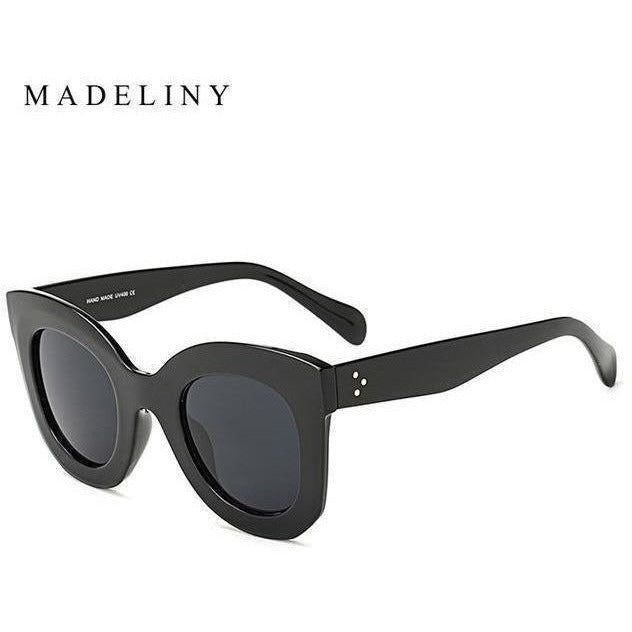 Fashion Cat Eye Sunglasses for Women-Shades-Sour Grapes Online-NO4 Black-
