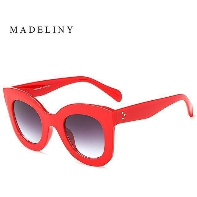 Fashion Cat Eye Sunglasses for Women-Shades-Sour Grapes Online-NO5 Red-