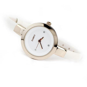 Fashion Slim Strap Quartz Watch for Women-Watch-Sour Grapes Online-Golden White-