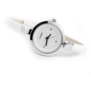 Fashion Slim Strap Quartz Watch for Women-Watch-Sour Grapes Online-Silver White-