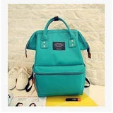 Fashion Women High Quality Denim Travel Backpack-Backpack-Sour Grapes Online-Green-26 x 40 x 17 cm-