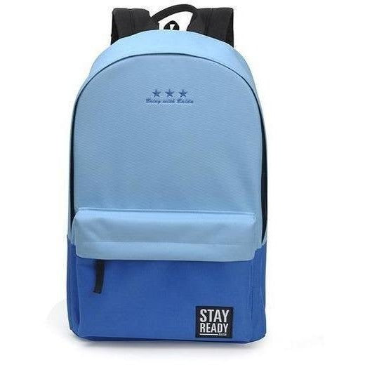 Fashion Women Leisure Korean Style Laptop Backpack-Backpack-Sour Grapes Online-blue-