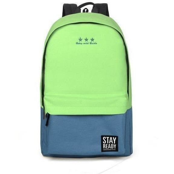Fashion Women Leisure Korean Style Laptop Backpack-Backpack-Sour Grapes Online-green-