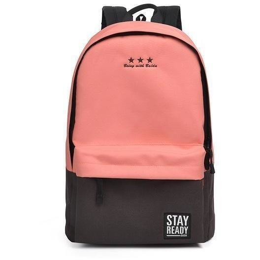 Fashion Women Leisure Korean Style Laptop Backpack-Backpack-Sour Grapes Online-pink-