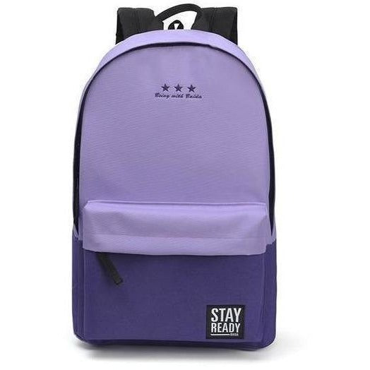 Fashion Women Leisure Korean Style Laptop Backpack-Backpack-Sour Grapes Online-purple-