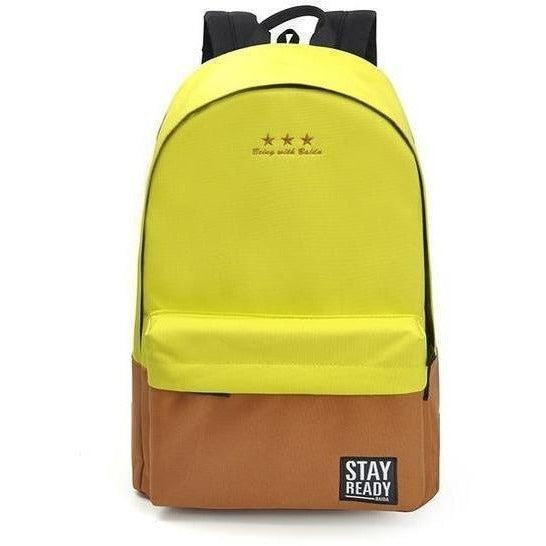 Fashion Women Leisure Korean Style Laptop Backpack-Backpack-Sour Grapes Online-yellow-