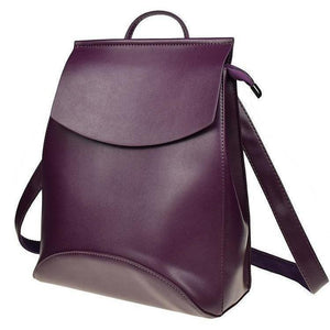Genuine High Quality Designer Women Leather Backpacks-Backpack-Sour Grapes Online-