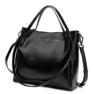 Genuine Leather Handbags Crossbody Shoulder Bags Satchels For Women