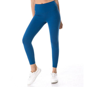 Gym Wear Womens Tights Yoga Pants Squat Proof Leggings With Pockets