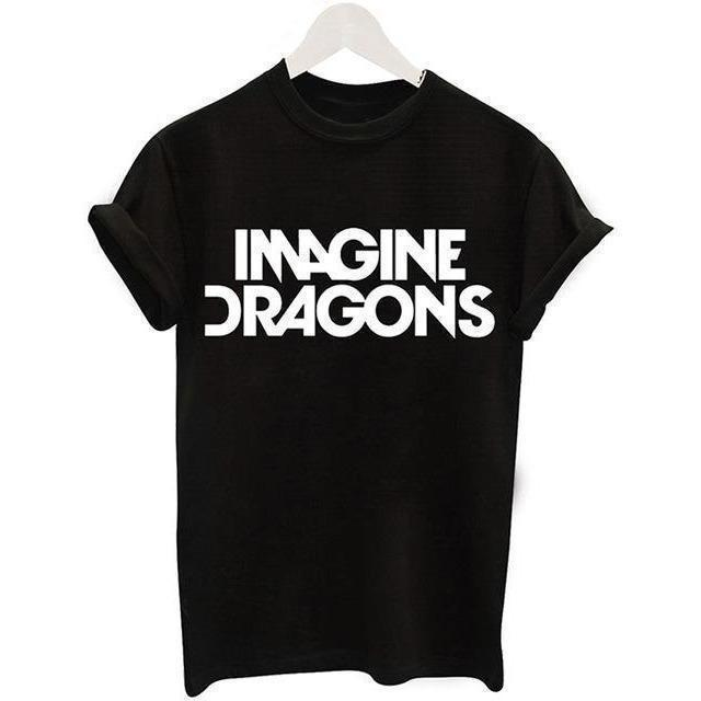 Harajuku Black Unicorn Funny Basic T Shirts-T-Shirt-Sour Grapes Online-9-S-