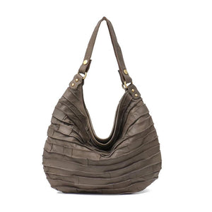 Leather Crossbody Bags Striped Hobo Bags Shoulder Bags For Women