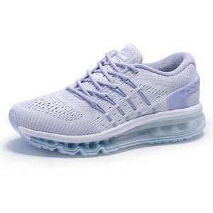 Lightweight Breathable Running Shoes Grey Outdoor Trainers-Sneakers-Sour Grapes Online-Grey-3.5-