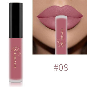 Matte Waterproof Long Lasting Moisturizing Lipgloss Lipstick-Lips Styling-Sour Grapes Online-08-