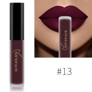 Matte Waterproof Long Lasting Moisturizing Lipgloss Lipstick-Lips Styling-Sour Grapes Online-13-