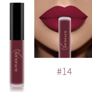 Matte Waterproof Long Lasting Moisturizing Lipgloss Lipstick-Lips Styling-Sour Grapes Online-14-