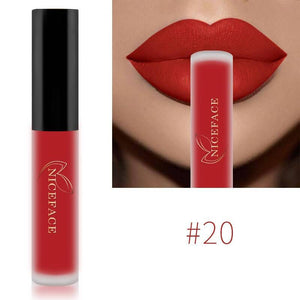 Matte Waterproof Long Lasting Moisturizing Lipgloss Lipstick-Lips Styling-Sour Grapes Online-20-