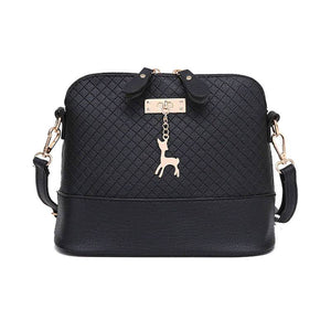 Mini Messenger Bag With Deer Charm Sling Bags For Women