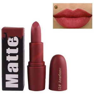 Miss Rose Waterproof Long Lasting Nude Matte Lipstick-Lips Styling-Sour Grapes Online-52 AMERICANA-