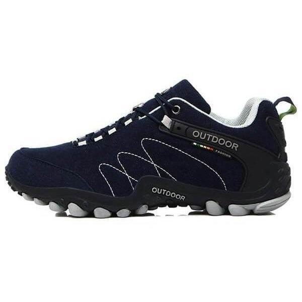 Non-Slip Off-road Jogging Trainers Outdoor Sports Shoes-Sneakers-Sour Grapes Online-Navy Blue-5-