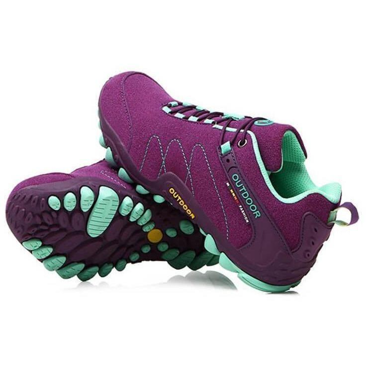 Non-Slip Off-road Jogging Trainers Outdoor Sports Shoes-Sneakers-Sour Grapes Online-Purple-5-