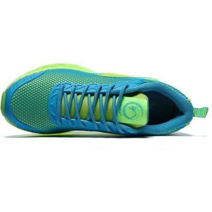 Onemix Lightweight Breathable Running Outdoor Blue Green Trainers-Sneakers-Sour Grapes Online-Blue Green-3.5-