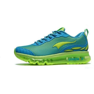 Onemix Lightweight Breathable Running Outdoor Blue Green Trainers-Sneakers-Sour Grapes Online-Blue Green-8-