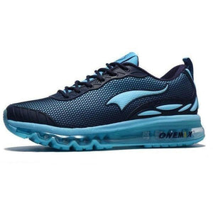 Onemix Lightweight Breathable Running Outdoor Blue Trainers-Sneakers-Sour Grapes Online-Blue-4-