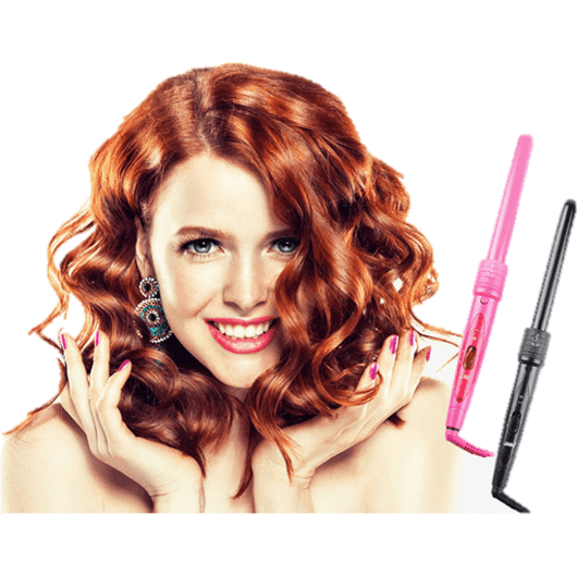 Pro 5-in-1 Ceramic Heat Resistant Hair Curling Styling Set-Hair Styling-Sour Grapes Online-US Plug-Black-