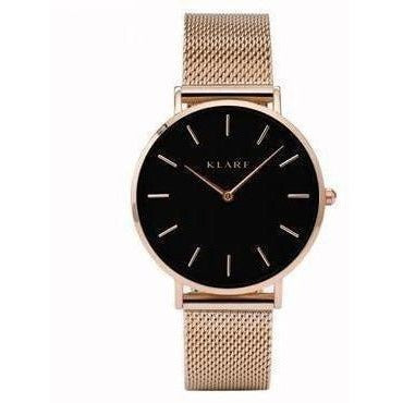 Quartz Watch Women Watches Brand Luxury New 2017 Female Clock Wrist Watch Lady Quartz watch Montre Femme Relogio Feminino klarf-Watch-Sour Grapes Online-K103-