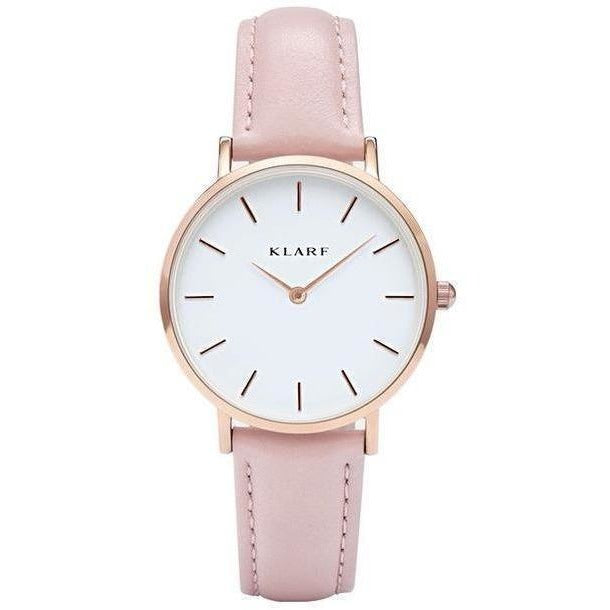 Quartz Watch Women Watches Brand Luxury New 2017 Female Clock Wrist Watch Lady Quartz watch Montre Femme Relogio Feminino klarf-Watch-Sour Grapes Online-K111-