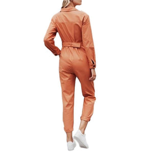 SG Cargo Jumpsuit With Pocket Casual Romper Cotton Overalls