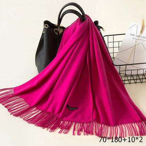 SG Cashmere Shawls Women Pashmina Scarf Woolen Stoles For Ladies