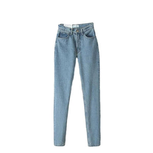 SG High Waist Denim Jeans Vintage Slim Mom Jeans Pencil Pants