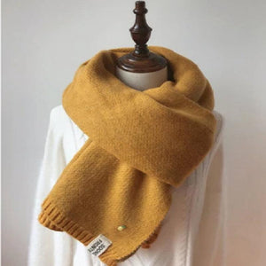 SG Women Stoles Long Cashmere Scarves Knitted Winter Woolen Shawls