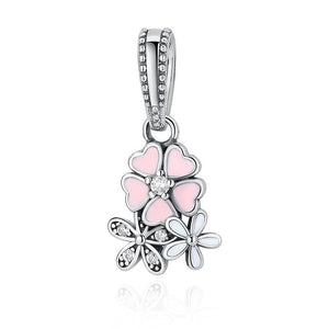 Sterling Silver Dangle Charm Finely Crafted Pendants