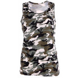 Streetwear Casual Vest Camouflage Summer Tank Tops For Women-Top-Sour Grapes Online-S-Green-