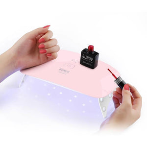 UV LED Portable Mini Nail Gel Lamp With USB Cable-Nails Styling-Sour Grapes Online-SUNUV SUNmini 6 LED-