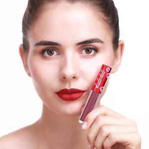 Waterproof Long Lasting Liquid Matte Lipsticks For Women-Lips Styling-Sour Grapes Online-1 SHROOM-