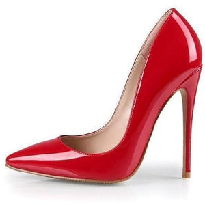 Woman High Heels Trendy Red Shoes Fashion Stilettos-Stilettos-Sour Grapes Online-Red-10 cm-5