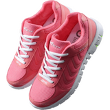 Women Casual Fashion Breathable Mesh Flat Sneaker Shoes-Sneakers-Sour Grapes Online-Rose-6-