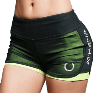 Women Fashion Casual Active Workout Breathable Army Green Shorts-Shorts-Sour Grapes Online-Green-S-