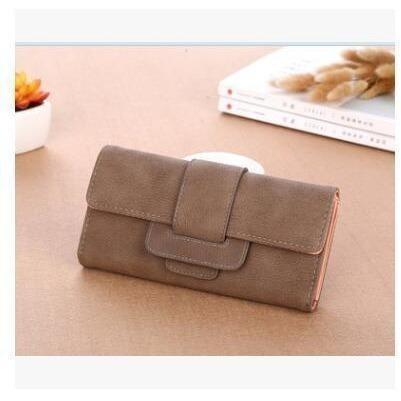 Women Leather Wallets Female Card Holders Coin Purse-Wallet-Sour Grapes Online-Hese-
