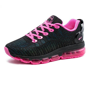 Women Lightweight Reflective Mesh Vamp Pink Trainers-Sneakers-Sour Grapes Online-Pink-3.5-