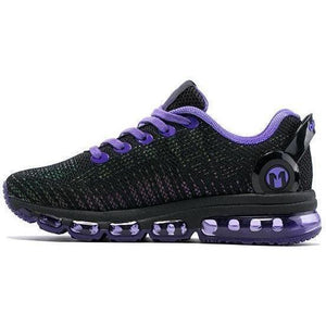 Women Lightweight Reflective Mesh Vamp Purple Sneakers-Sneakers-Sour Grapes Online-purple-4-